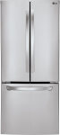 30 Inch LG French Door Refrigerator in Stainless Steel