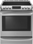 """30"""" Slide-in Electric Range with 6.3 cu. ft. Capacity"""