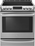 "30"" Slide-in Electric Range with 6.3 cu. ft. Capacity"