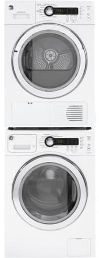 Ge Wcvh4800kww 24 Inch Front Load Washer With Internal