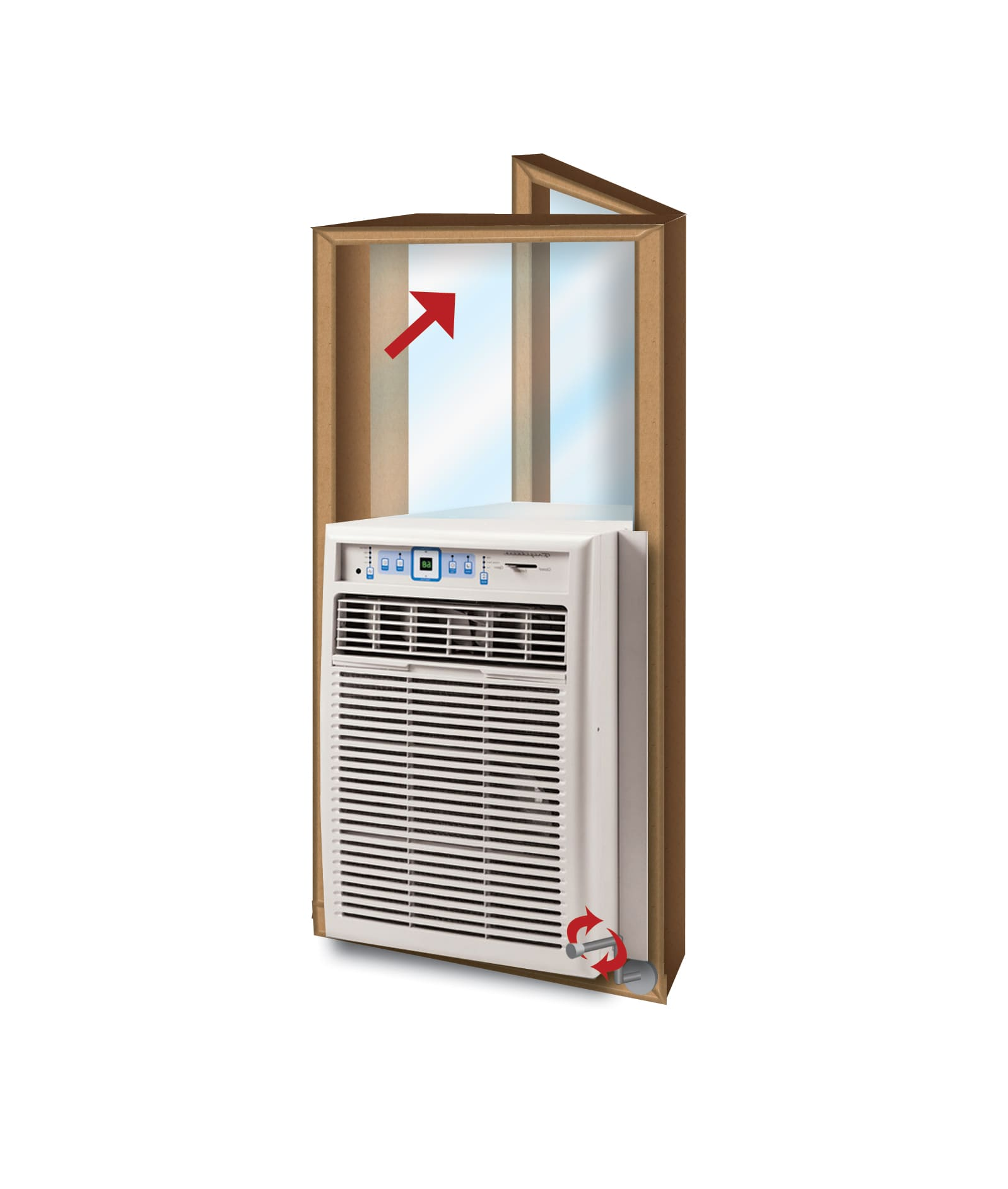 Air conditioners for 13 inch casement window air conditioner