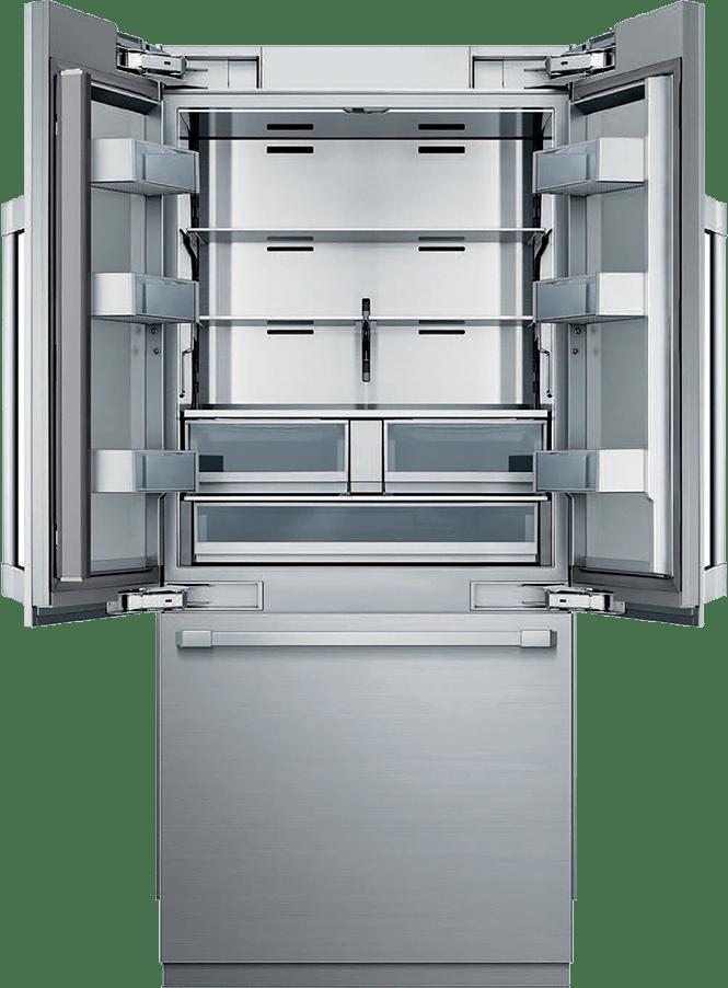 Dacor - open french door refrigerator