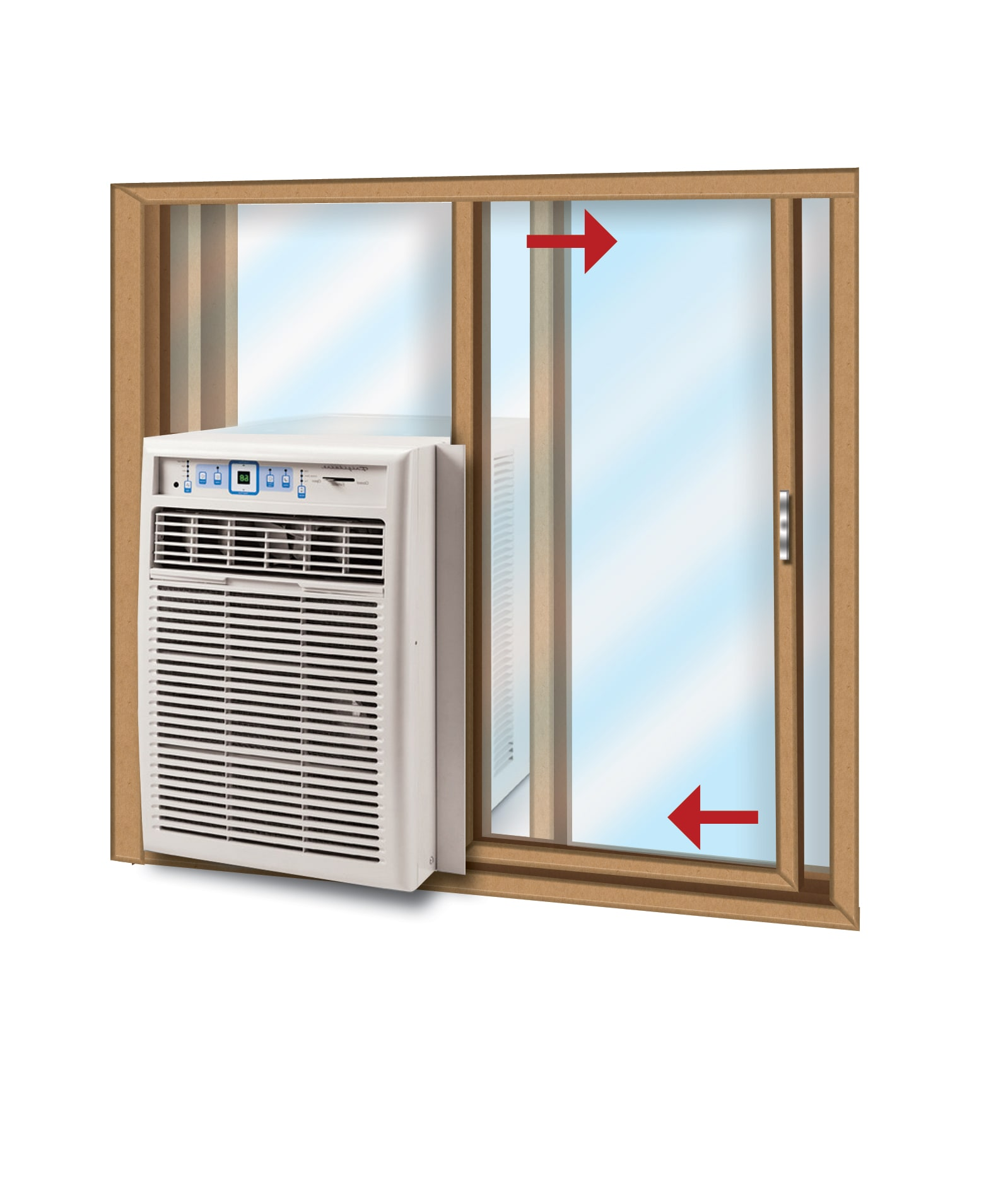 Air Conditioners Ac Circuit Board Prices Conditioner Slider Window Also Come With A Kit But If You Have Particularly Tall May Need To Purchase Additional Plexiglass