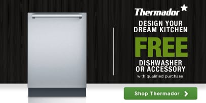 Thermador top luxury brand pro performance rebate dishwasher