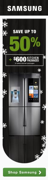 Samsung Save Up To $400 on a 4-Piece Kitchen Package