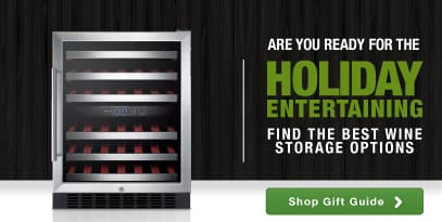 Are you ready for holiday entertaining? Let us help you find the best wine storage options