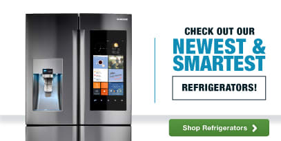 Check out our newest & smartest Refrigerators!