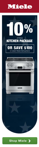 Miele: Your Culinary Adventure Awaits! Save 10% on Miele Kitchen Package of your choice! OR Save $100 on a Miele Dishwasher!