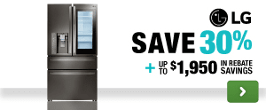 Save up to 30% plus $1950 in additional rebate savings!