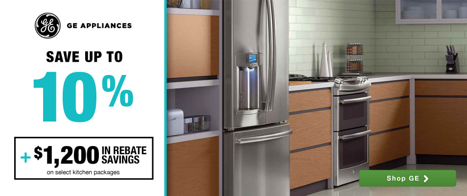 marvelous Buying Kitchen Appliances Online #8: GE: Save up to 10% plus $1200 in rebate savings on select kitchen packages