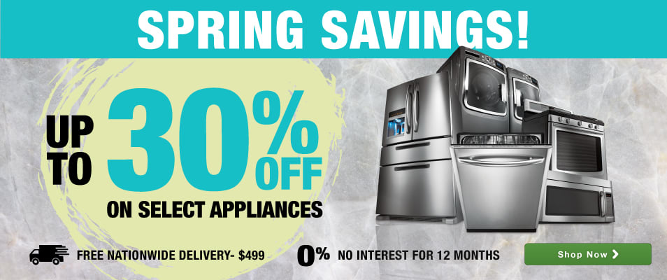 good Best Online Shopping Sites For Kitchen Appliances #10: Spring Savings! Save up to 30%! Free Shipping on orders $499+/