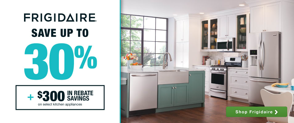 superior Best Online Shopping Sites For Kitchen Appliances #6: Frigidaire: Save up to 30% plus an additional $300 in rebate savings on  select