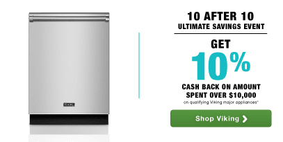 Viking 10 After 10 Savings Event!