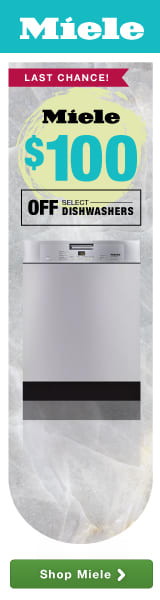 Last chance: $100 off select dishwashers!