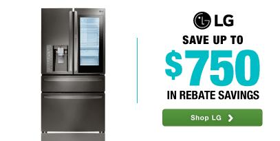 LG: Save up to $750 in rebates