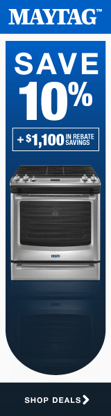 Maytag: Save 10% plus up to an additional $1100
