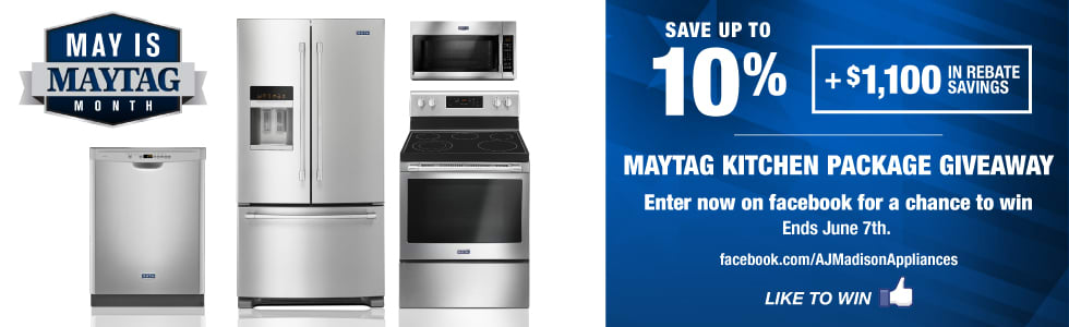 Maytag Giveaway: Win a Free Kitchen Package
