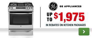 GE: Up to $1975 in Rebates