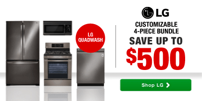 LG QUADWASH DISHWASHER - LG 4-Piece Bundle Your Way - Receive Up to $500
