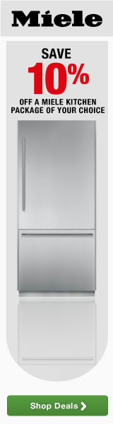 Save 10% off a Miele Kitchen Package of your choice
