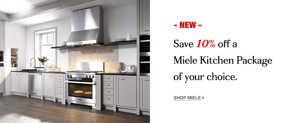 Save 10 Off A Miele Kitchen Package Of Your Choice
