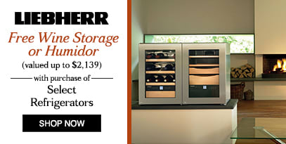 Liebherr: Free Wine Storage or Humidor with Qualifying Refrigerator Save up to $2139
