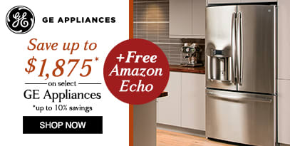 GE save up to $1875 + Free Amazon Echo