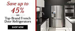 Refrigerators – French door: Up to 45% off