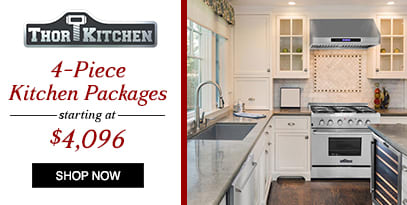 Thor 4 Piece Kitchen Packages starting at $4096