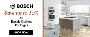 Bosch up to 15% off Kitchen Packages