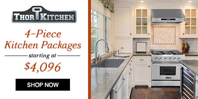 THOR: Finally a professional kitchen you can afford, 4 Piece Kitchen Packages starting at $4096