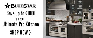 Blue Star Ranges: Save up to $1000 on select ranges