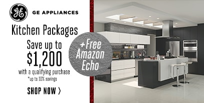 GE Kitchen Packages: Save up to $1200 WQP + Free Amazon Echo *up to 10% Savings