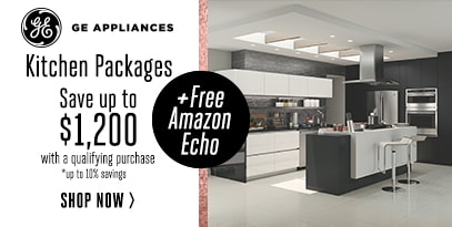 GE Appliance Package Rebate   Save Up To $1,200