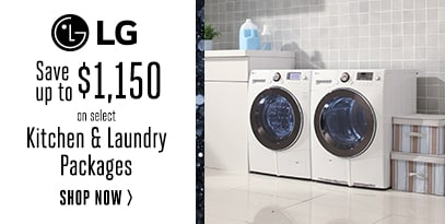 1.11.18 LG - Save Up to $1150 in rebates on Kitchen and Laundry Packages