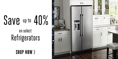 Refrigerators up to 40% off