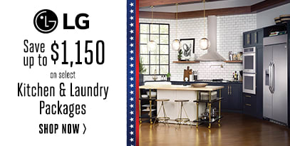 LG - Save Up to $1150 in rebates on Kitchen and Laundry Packages
