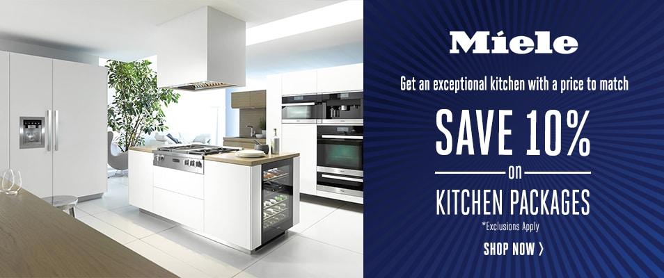 Save 10 On Miele Kitchen Packages
