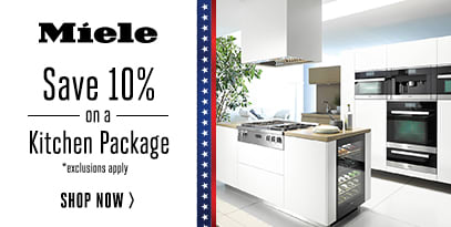 Save 10% on Miele Kitchen Packages