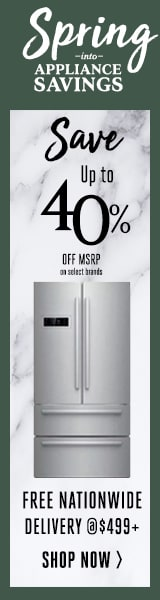 spring saving event | Save up to 40% Off MSRP | After rebates | On Select Brands | Free Delivery nation wide @$499 excludes remote locations | 12 month interest free financing @ $499