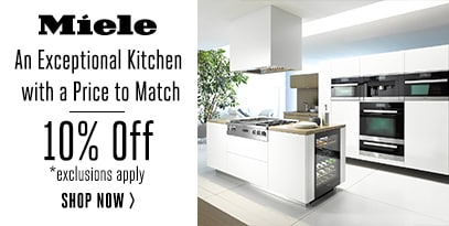 Miele an exceptional kitchen with a price to match 10% Off *Exclusions Apply