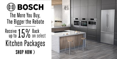 Bosch The More You Buy, The Bigger The Rebate! Receive Up To 15%