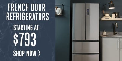 French Door Refrigerators Starting at $793