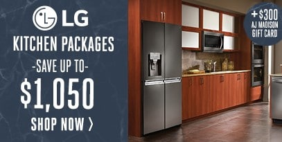 LG Kitchen Package Save Up to $1,050 - $300 Gift Card