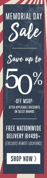 Memorial Day Event. Save Up to 50%