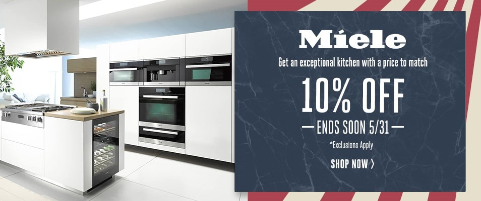 Miele - An Exceptional Kitchen with a Price to Match - 10% Off