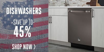 Dishwasher - Save Up to 45%