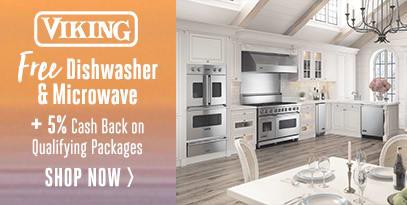 Viking - Get a Free Dishwasher & Microwave