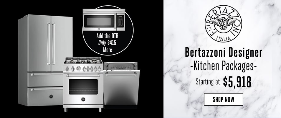 Bertazzoni Designer Packages