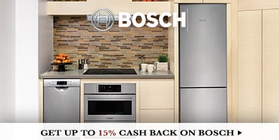 Bosch - 15% Back on Kitchen Packages